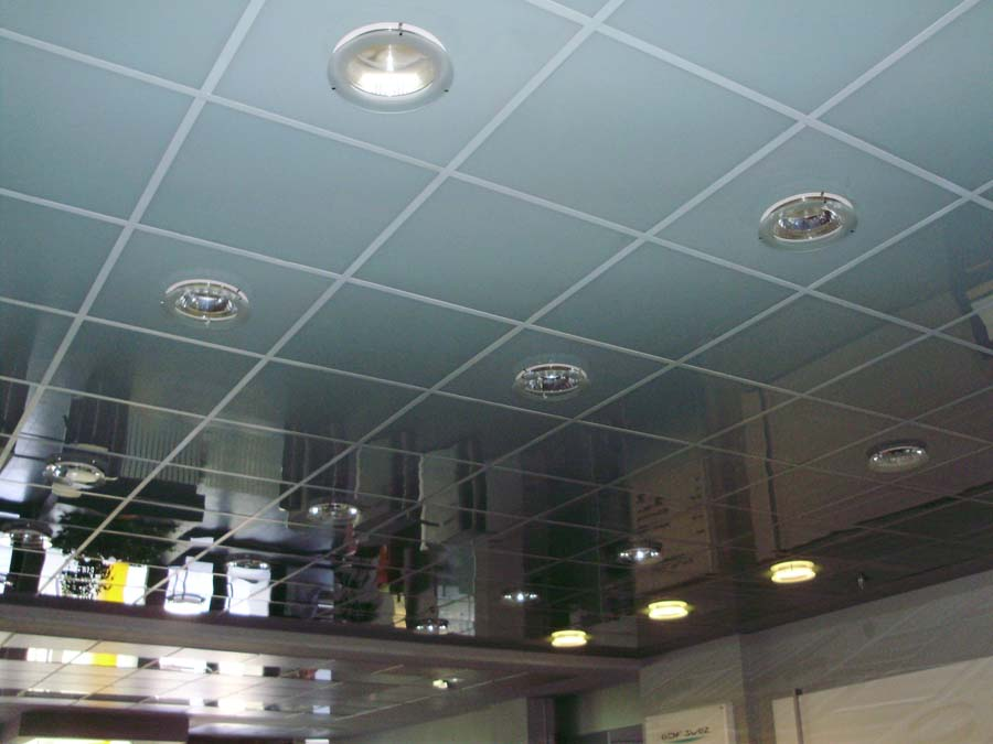 Tavan casetat sticla securizata GDF SUEZ  - Poza 8