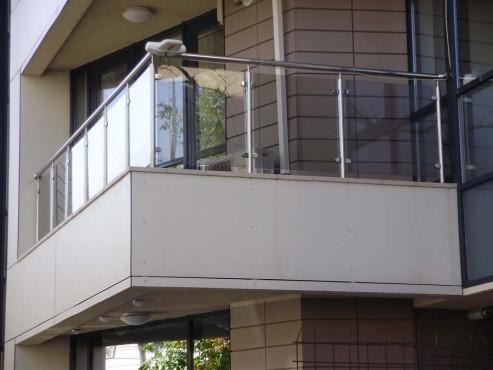 Balustrada de sticla securizata  - Poza 12