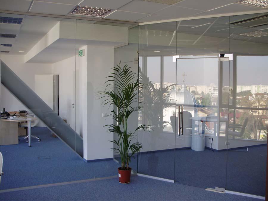 Compartimentare birouri cu sticla securizata  - Poza 15
