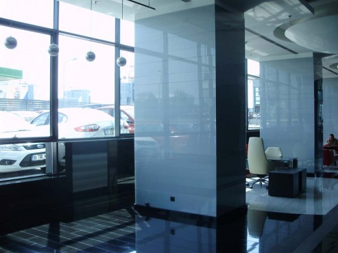 Placare cu sticla Cubic Center  - Poza 23