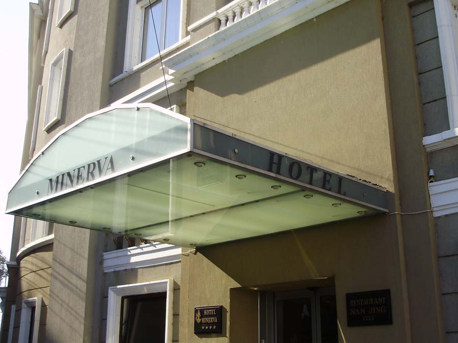 Copertina sticla securizata Hotel Minerva SAINT GOBAIN GLASS - Poza 2