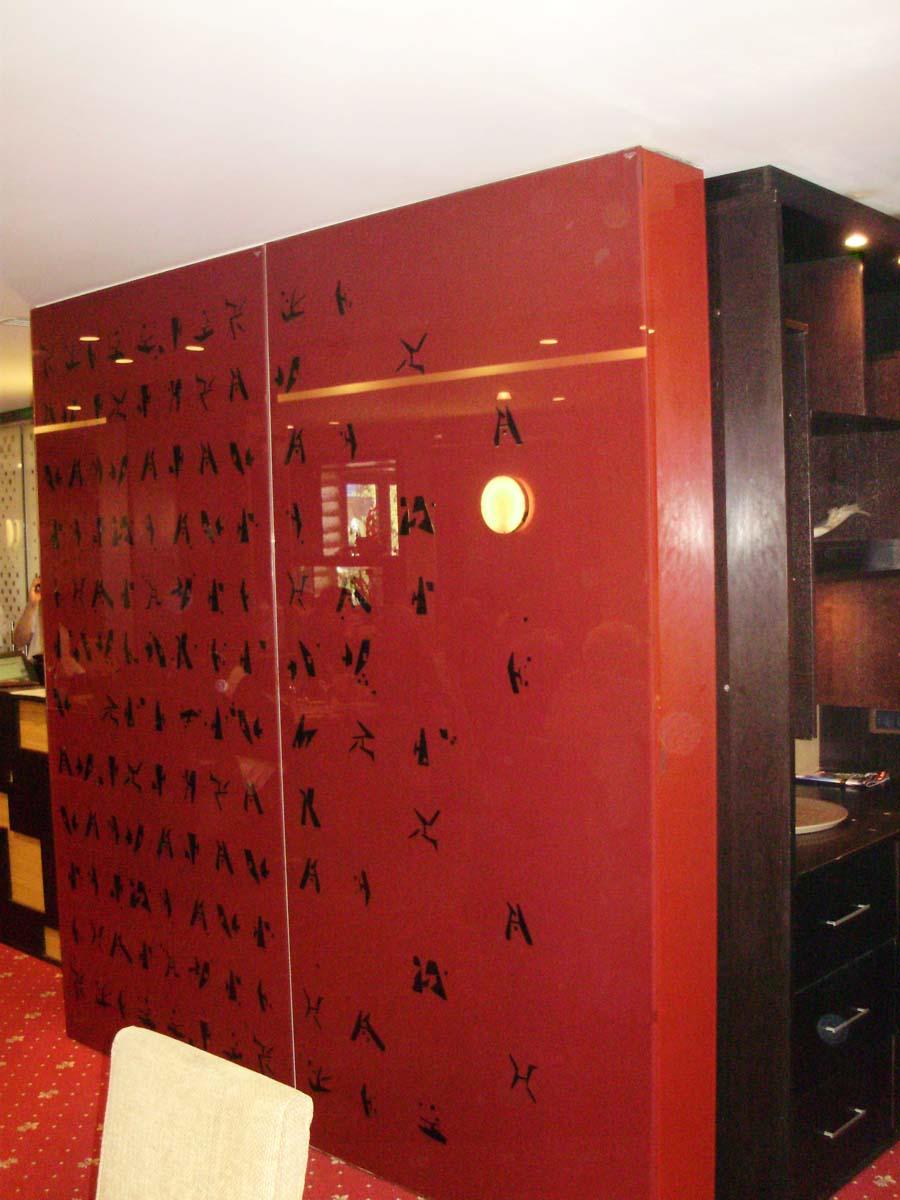 Placare cu sticla securizata colorata Restaurant Nan-Jing SAINT GOBAIN GLASS - Poza 6