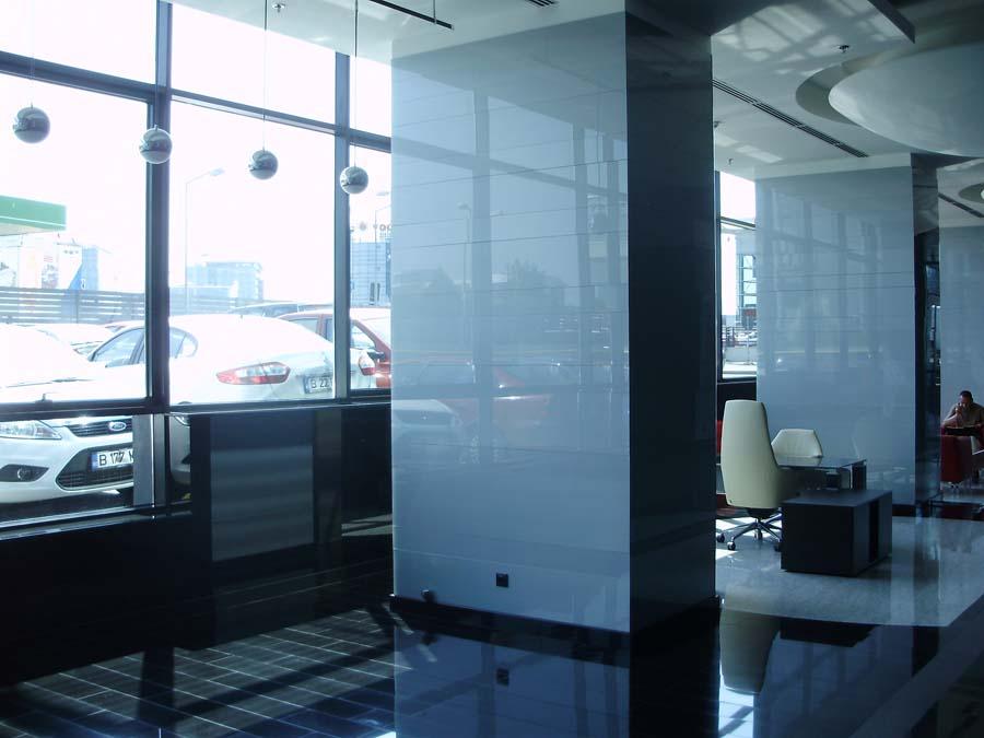 Placare cu sticla Cubic Center SAINT GOBAIN GLASS - Poza 23