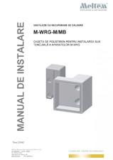 Caseta de polistiren pentru instalarea sub tencuiala a aparatelor M-WRG MELTEM