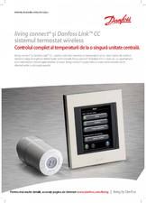 Control complet al temperaturii de la o singura unitate centrala DANFOSS