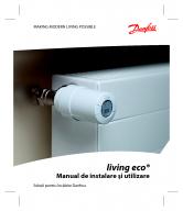 Termostat electronic de radiator DANFOSS