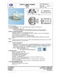 Spot rotund ELBA-COM - Clio - PSFL 07