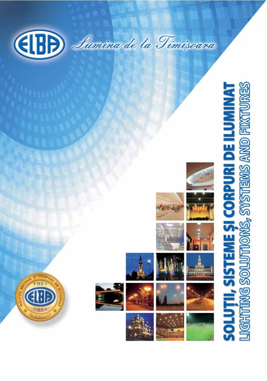 Pagina 1 - Catalog general de produse ELBA ELBA ECRAN CONTRAST, 3S2-TL-LED, 2S2-TL-LED, 3SC1-TL-LED,...