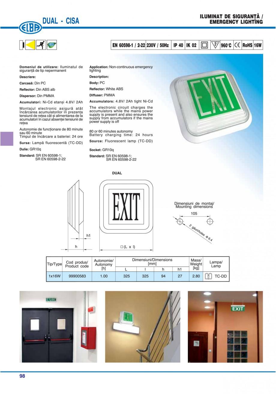 Pagina 12 - Catalog general de produse ELBA ELBA ECRAN CONTRAST, 3S2-TL-LED, 2S2-TL-LED, 3SC1-TL-LED...