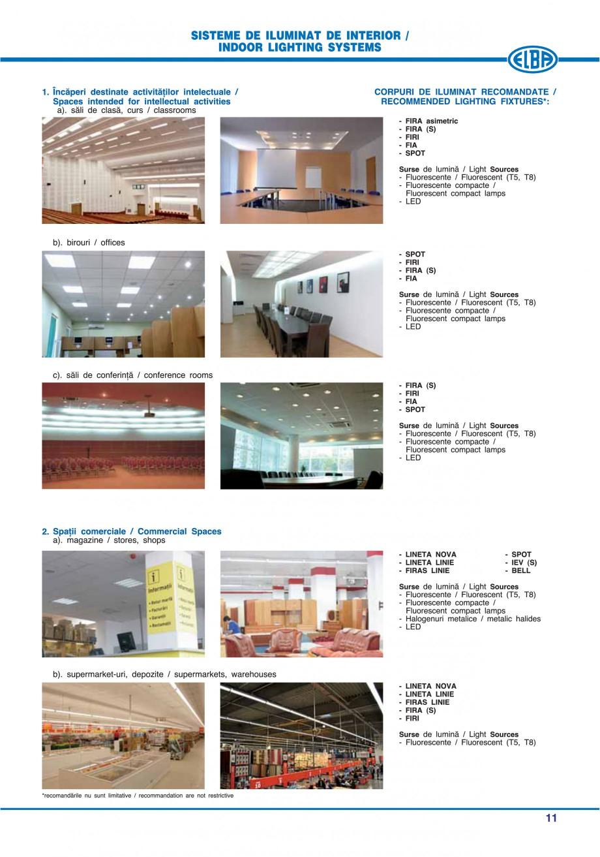 Pagina 17 - Catalog general de produse ELBA ELBA ECRAN CONTRAST, 3S2-TL-LED, 2S2-TL-LED, 3SC1-TL-LED...