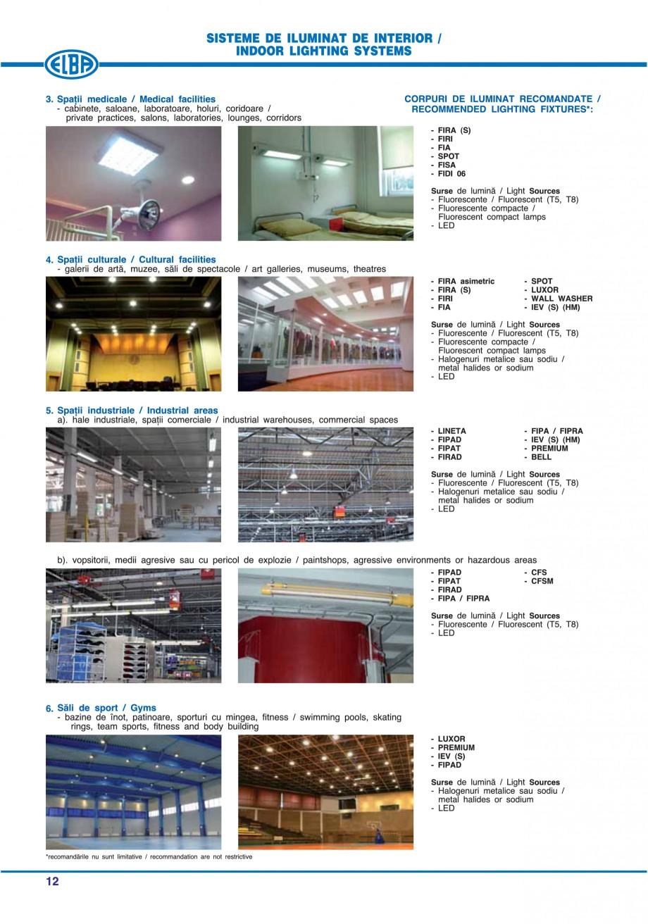 Pagina 18 - Catalog general de produse ELBA ELBA ECRAN CONTRAST, 3S2-TL-LED, 2S2-TL-LED, 3SC1-TL-LED...