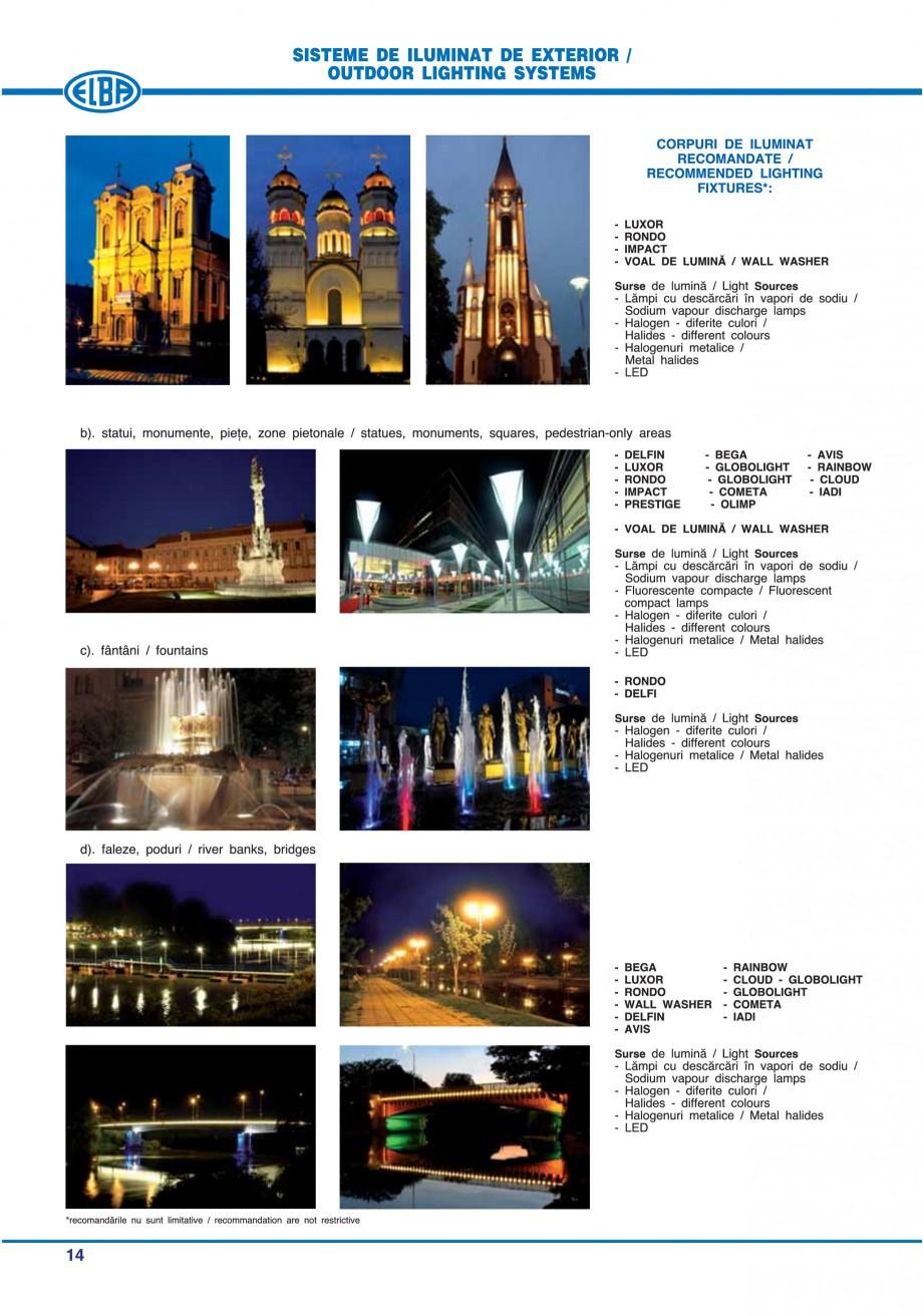 Pagina 20 - Catalog general de produse ELBA ELBA ECRAN CONTRAST, 3S2-TL-LED, 2S2-TL-LED, 3SC1-TL-LED...