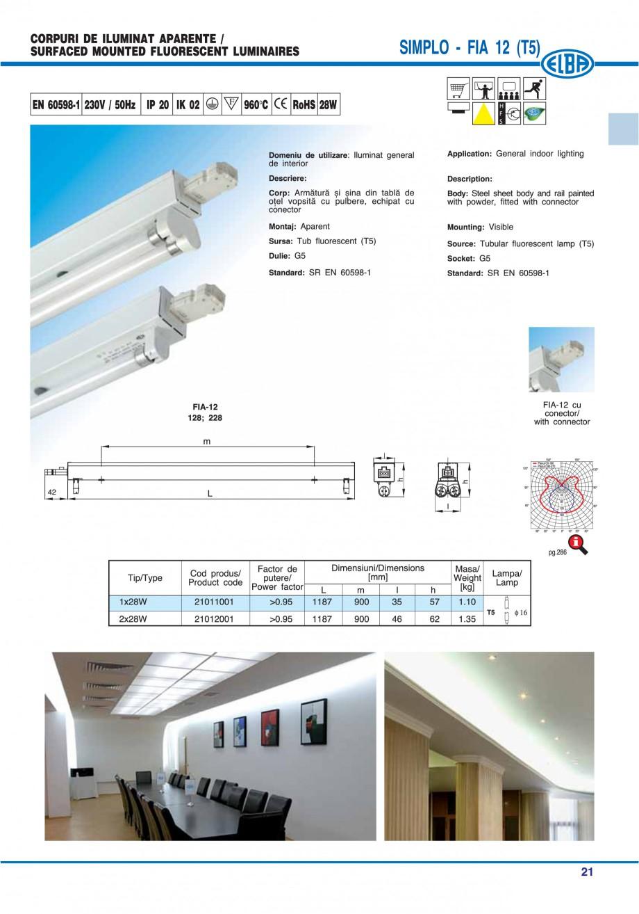Pagina 27 - Catalog general de produse ELBA ELBA ECRAN CONTRAST, 3S2-TL-LED, 2S2-TL-LED, 3SC1-TL-LED...