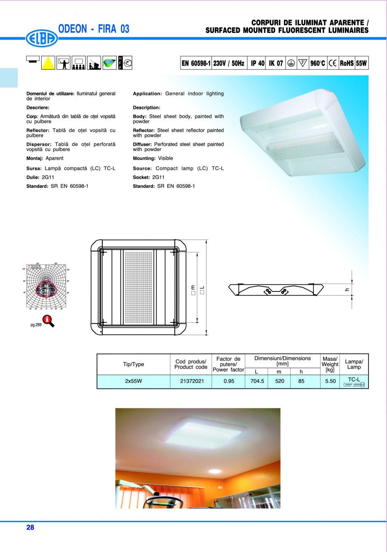 Pagina 34 - Catalog general de produse ELBA ELBA ECRAN CONTRAST, 3S2-TL-LED, 2S2-TL-LED, 3SC1-TL-LED...