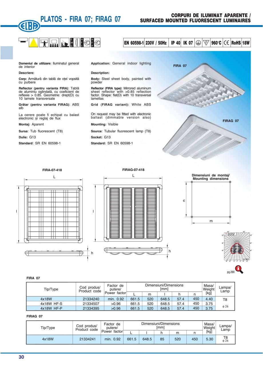 Pagina 36 - Catalog general de produse ELBA ELBA ECRAN CONTRAST, 3S2-TL-LED, 2S2-TL-LED, 3SC1-TL-LED...