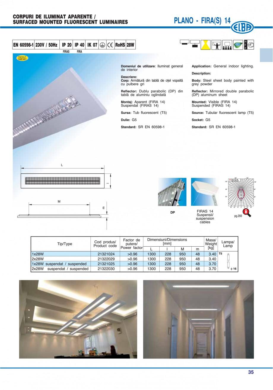 Pagina 41 - Catalog general de produse ELBA ELBA ECRAN CONTRAST, 3S2-TL-LED, 2S2-TL-LED, 3SC1-TL-LED...