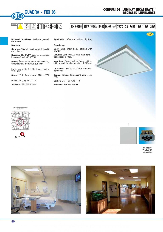Pagina 56 - Catalog general de produse ELBA ELBA ECRAN CONTRAST, 3S2-TL-LED, 2S2-TL-LED, 3SC1-TL-LED...