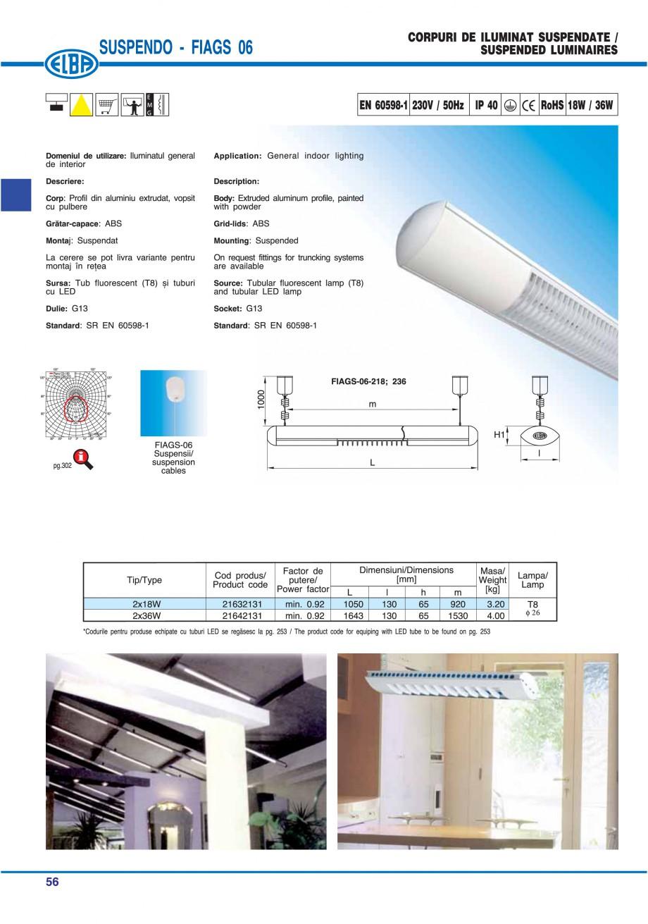 Pagina 62 - Catalog general de produse ELBA ELBA ECRAN CONTRAST, 3S2-TL-LED, 2S2-TL-LED, 3SC1-TL-LED...