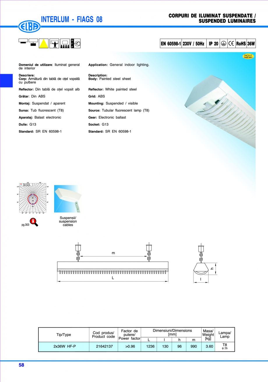 Pagina 64 - Catalog general de produse ELBA ELBA ECRAN CONTRAST, 3S2-TL-LED, 2S2-TL-LED, 3SC1-TL-LED...