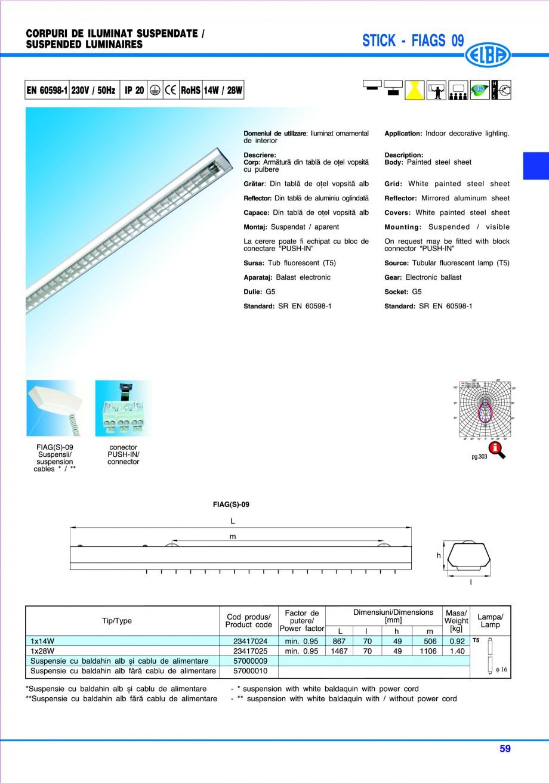 Pagina 65 - Catalog general de produse ELBA ELBA ECRAN CONTRAST, 3S2-TL-LED, 2S2-TL-LED, 3SC1-TL-LED...