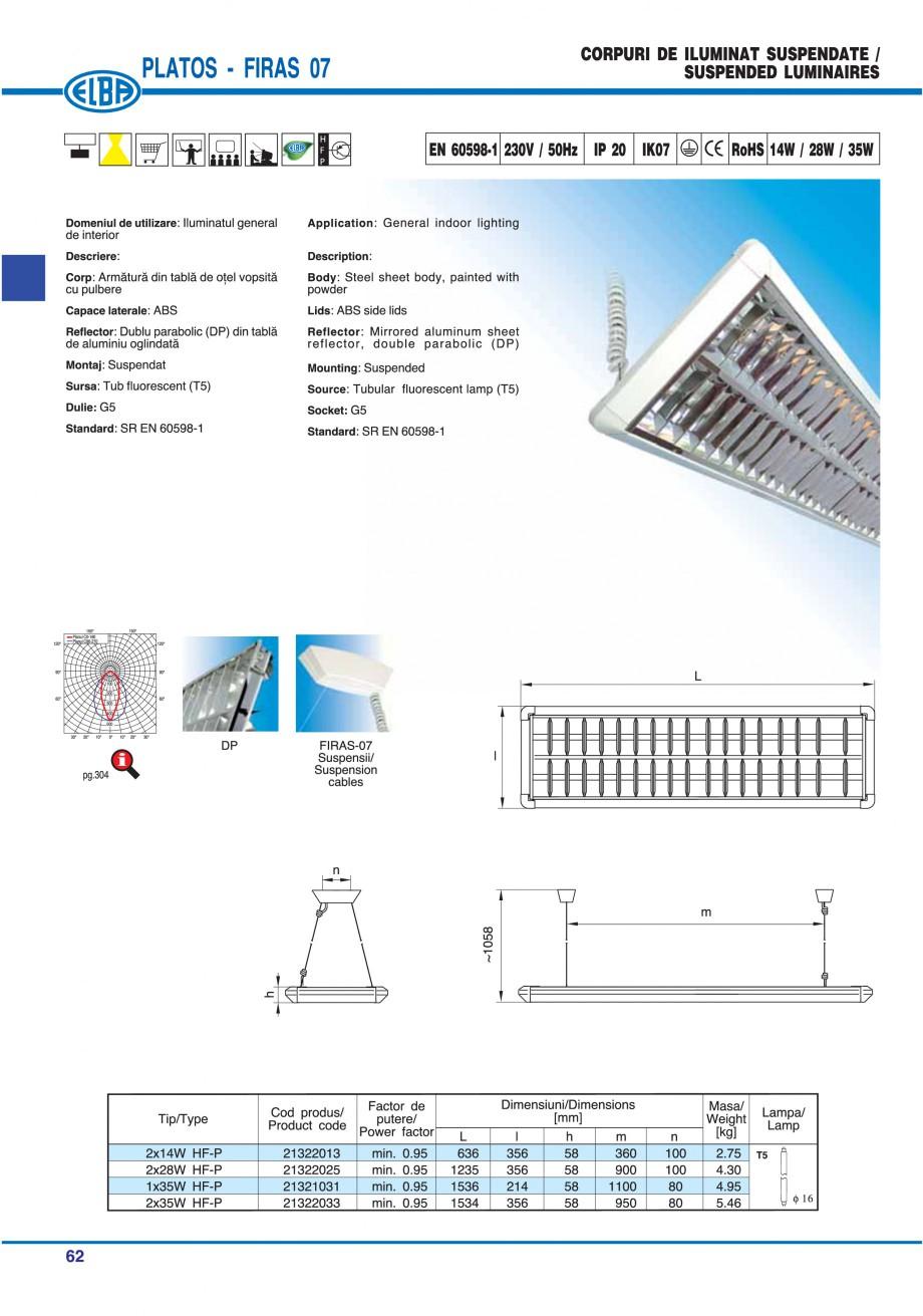 Pagina 68 - Catalog general de produse ELBA ELBA ECRAN CONTRAST, 3S2-TL-LED, 2S2-TL-LED, 3SC1-TL-LED...
