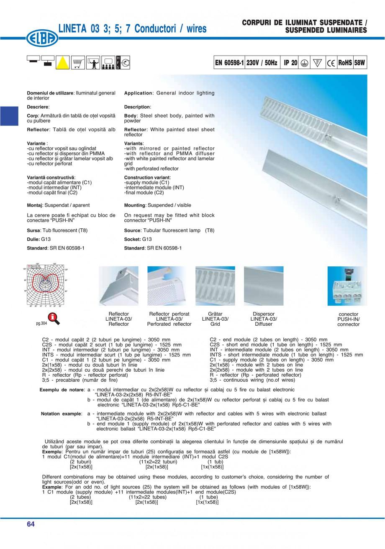 Pagina 70 - Catalog general de produse ELBA ELBA ECRAN CONTRAST, 3S2-TL-LED, 2S2-TL-LED, 3SC1-TL-LED...