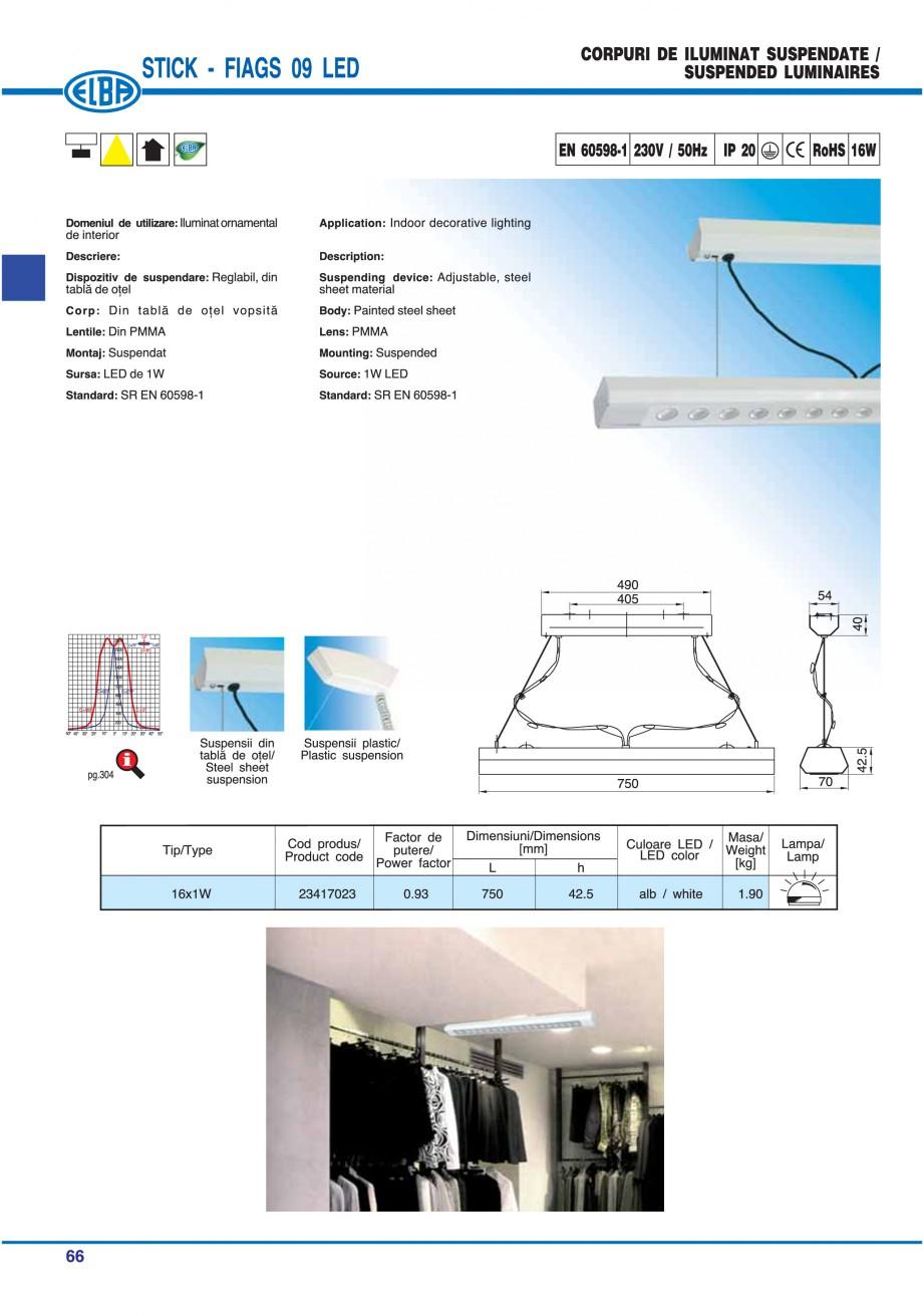 Pagina 72 - Catalog general de produse ELBA ELBA ECRAN CONTRAST, 3S2-TL-LED, 2S2-TL-LED, 3SC1-TL-LED...