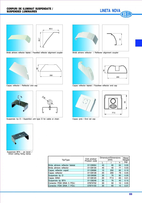 Pagina 75 - Catalog general de produse ELBA ELBA ECRAN CONTRAST, 3S2-TL-LED, 2S2-TL-LED, 3SC1-TL-LED...