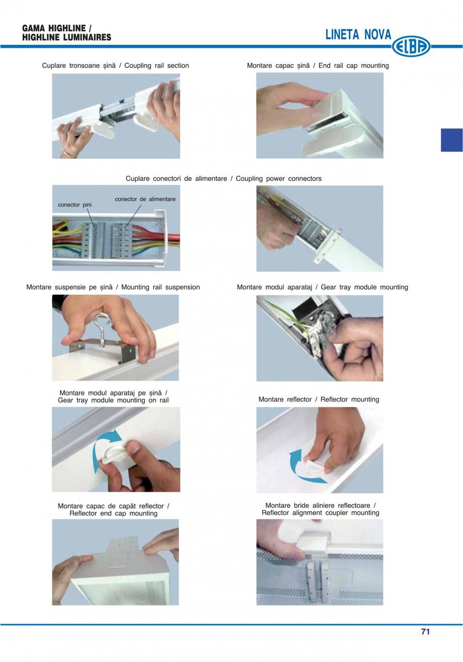 Pagina 77 - Catalog general de produse ELBA ELBA ECRAN CONTRAST, 3S2-TL-LED, 2S2-TL-LED, 3SC1-TL-LED...
