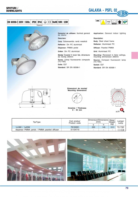 Pagina 85 - Catalog general de produse ELBA ELBA ECRAN CONTRAST, 3S2-TL-LED, 2S2-TL-LED, 3SC1-TL-LED...