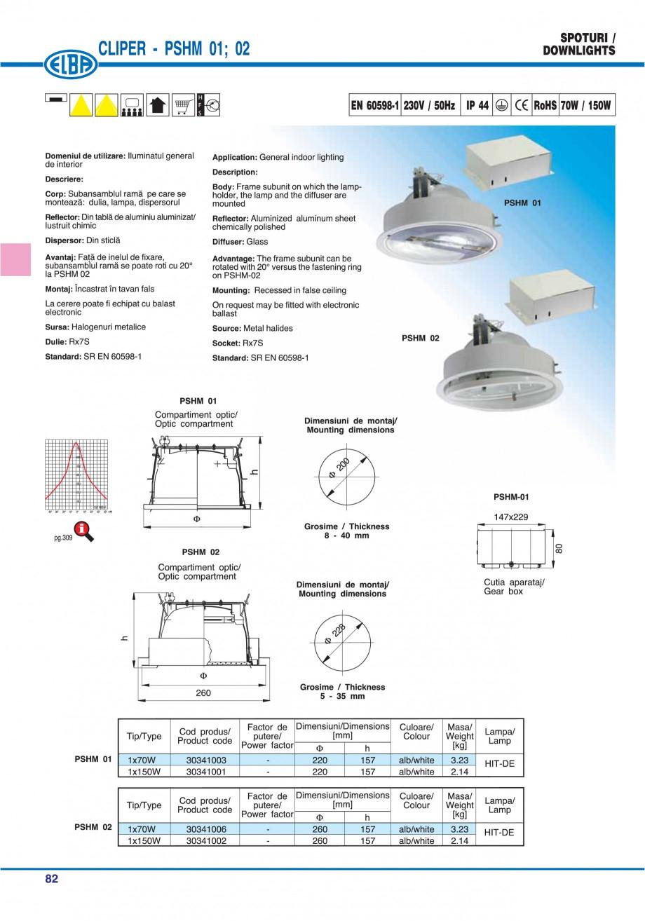 Pagina 88 - Catalog general de produse ELBA ELBA ECRAN CONTRAST, 3S2-TL-LED, 2S2-TL-LED, 3SC1-TL-LED...
