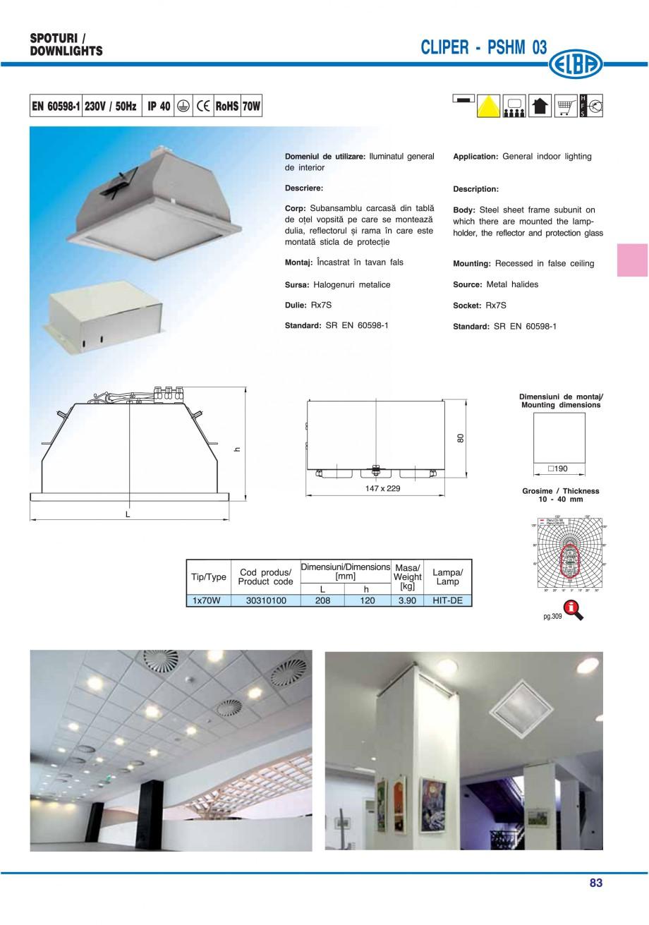 Pagina 89 - Catalog general de produse ELBA ELBA ECRAN CONTRAST, 3S2-TL-LED, 2S2-TL-LED, 3SC1-TL-LED...