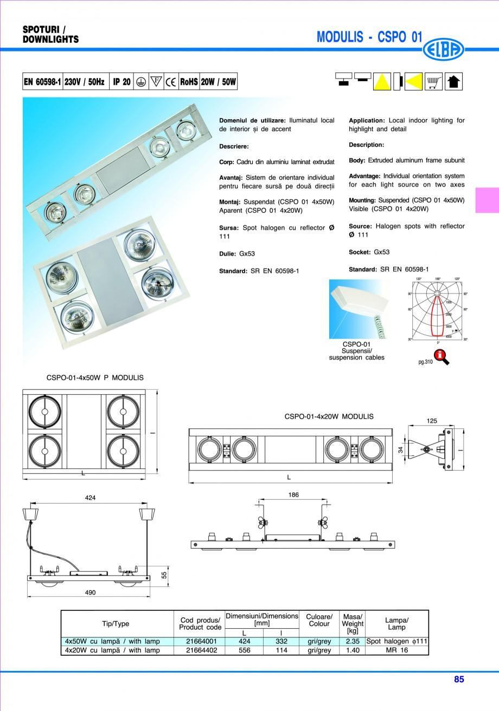Pagina 91 - Catalog general de produse ELBA ELBA ECRAN CONTRAST, 3S2-TL-LED, 2S2-TL-LED, 3SC1-TL-LED...