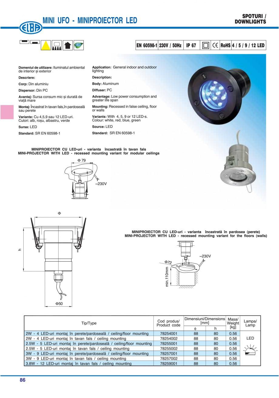 Pagina 92 - Catalog general de produse ELBA ELBA ECRAN CONTRAST, 3S2-TL-LED, 2S2-TL-LED, 3SC1-TL-LED...