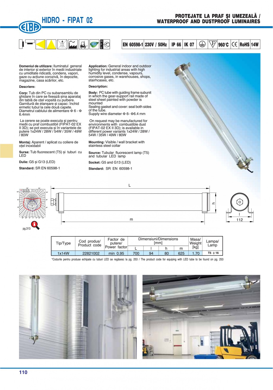 Pagina 113 - Catalog general de produse ELBA ELBA ECRAN CONTRAST, 3S2-TL-LED, 2S2-TL-LED,...