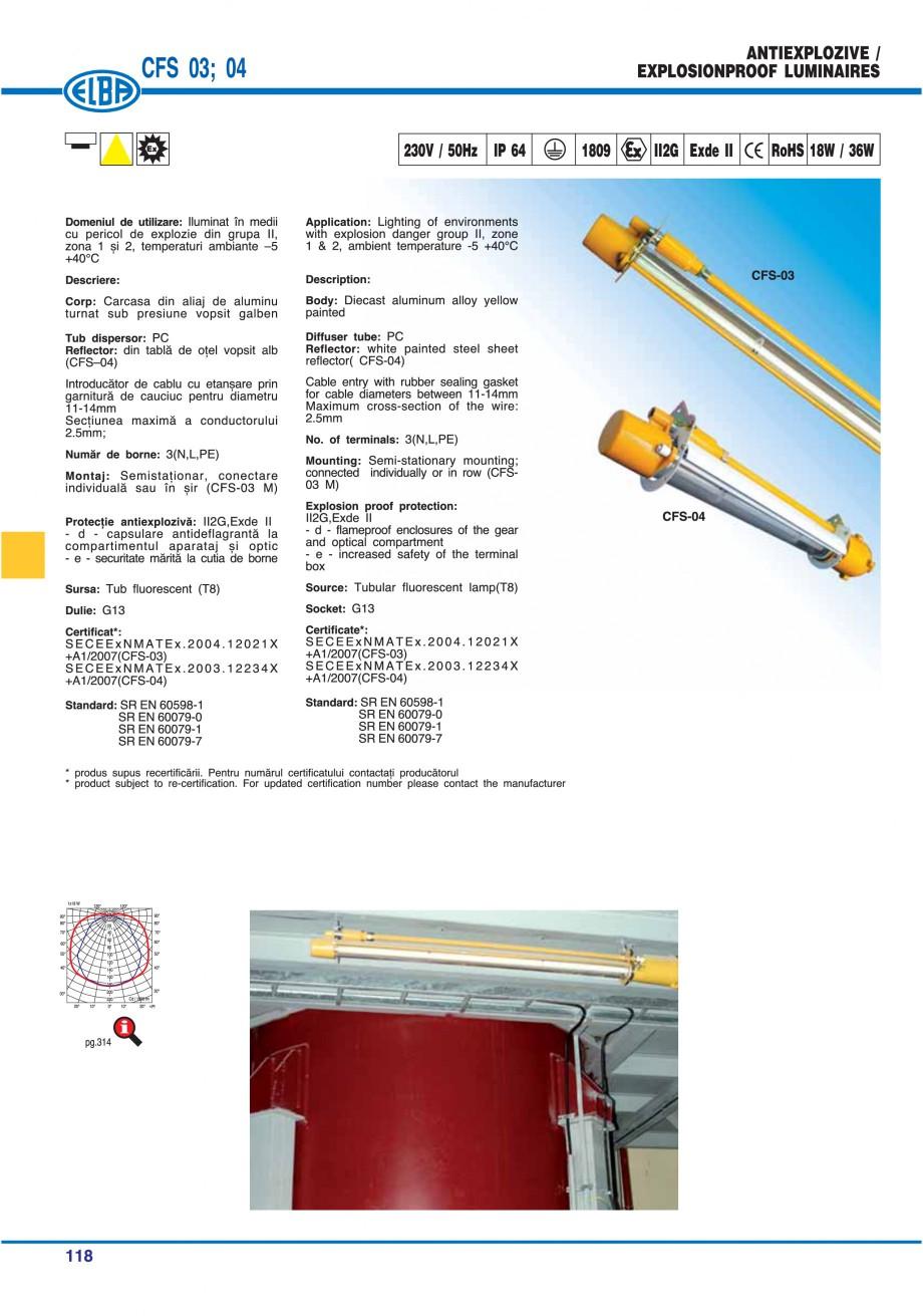 Pagina 121 - Catalog general de produse ELBA ELBA ECRAN CONTRAST, 3S2-TL-LED, 2S2-TL-LED,...