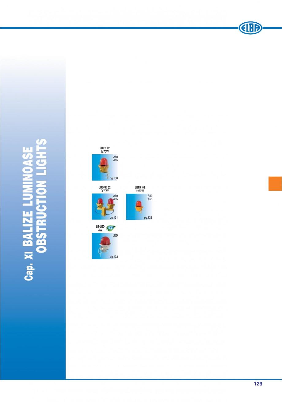 Pagina 132 - Catalog general de produse ELBA ELBA ECRAN CONTRAST, 3S2-TL-LED, 2S2-TL-LED,...