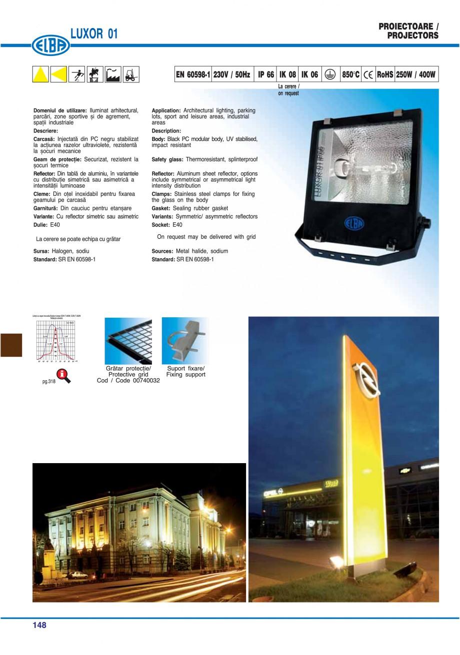Pagina 151 - Catalog general de produse ELBA ELBA ECRAN CONTRAST, 3S2-TL-LED, 2S2-TL-LED,...