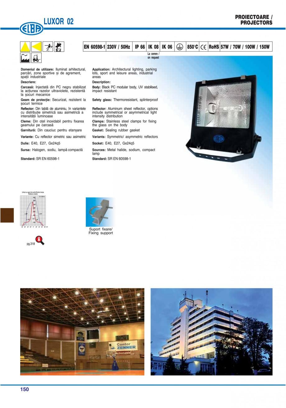 Pagina 153 - Catalog general de produse ELBA ELBA ECRAN CONTRAST, 3S2-TL-LED, 2S2-TL-LED,...
