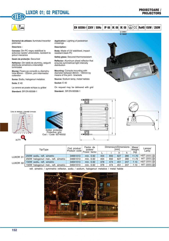 Pagina 155 - Catalog general de produse ELBA ELBA ECRAN CONTRAST, 3S2-TL-LED, 2S2-TL-LED,...