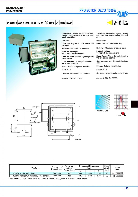 Pagina 156 - Catalog general de produse ELBA ELBA ECRAN CONTRAST, 3S2-TL-LED, 2S2-TL-LED,...