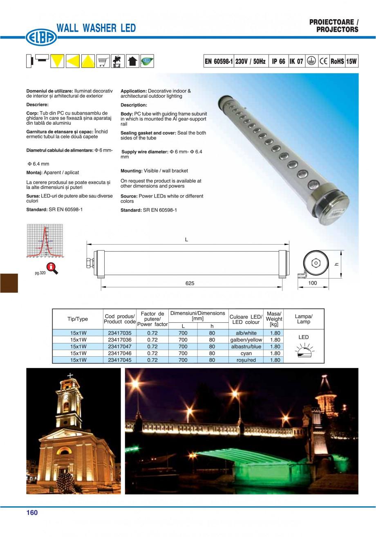Pagina 163 - Catalog general de produse ELBA ELBA ECRAN CONTRAST, 3S2-TL-LED, 2S2-TL-LED,...