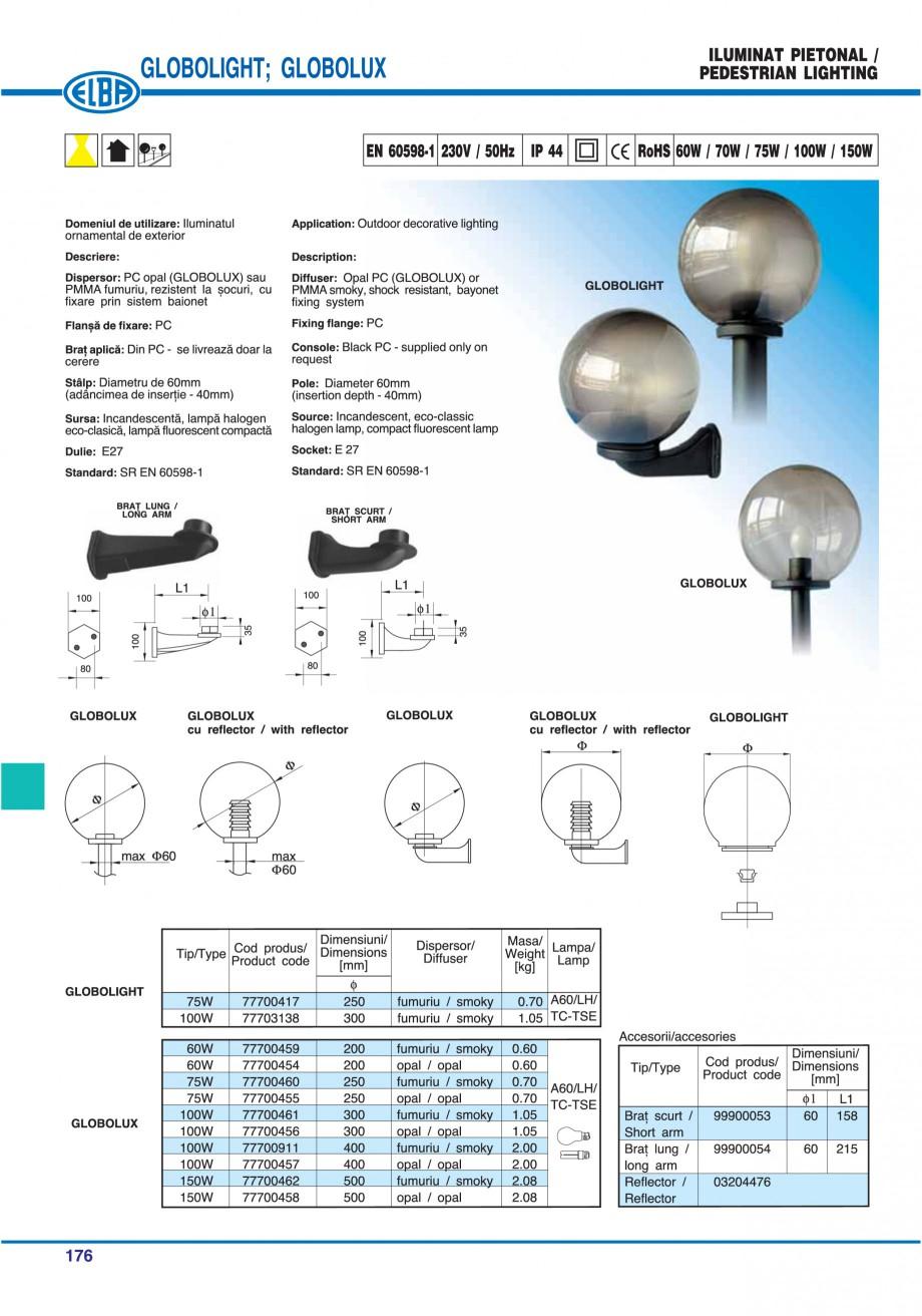 Pagina 179 - Catalog general de produse ELBA ELBA ECRAN CONTRAST, 3S2-TL-LED, 2S2-TL-LED,...