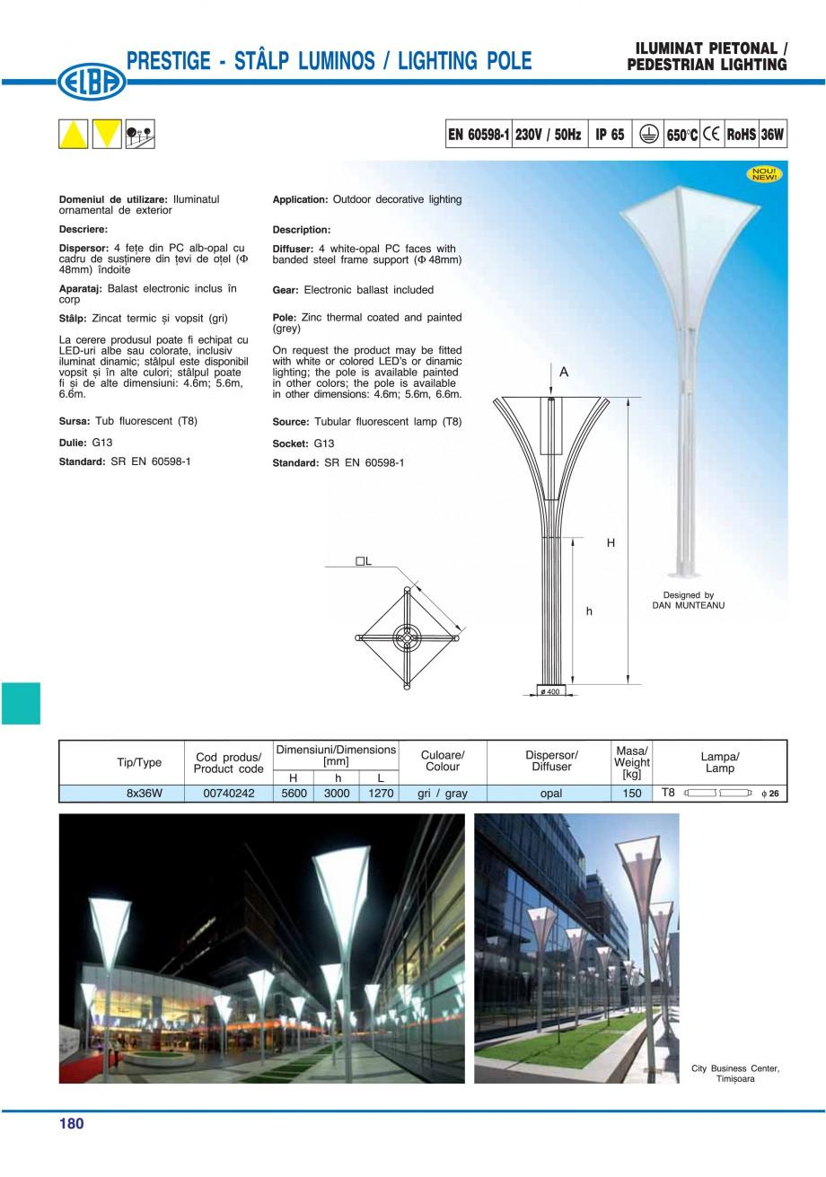 Pagina 183 - Catalog general de produse ELBA ELBA ECRAN CONTRAST, 3S2-TL-LED, 2S2-TL-LED,...