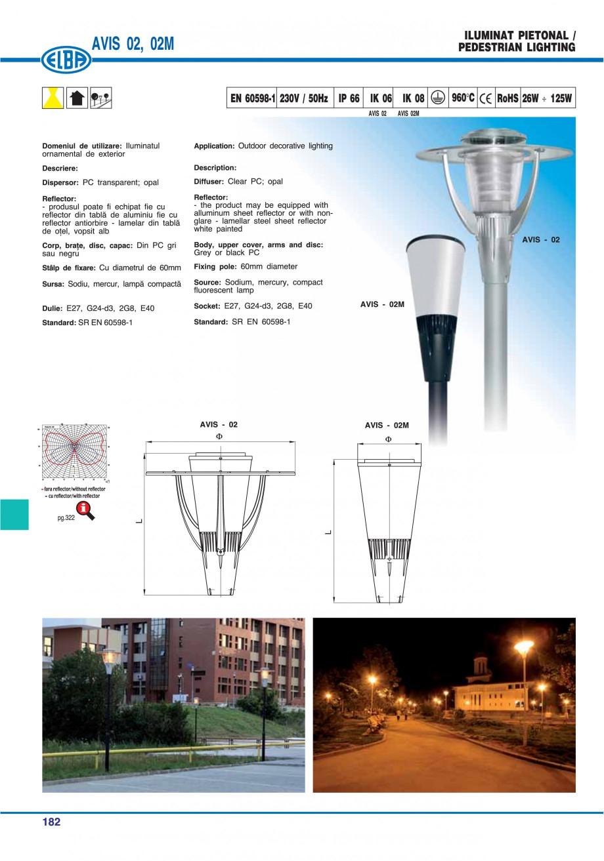 Pagina 185 - Catalog general de produse ELBA ELBA ECRAN CONTRAST, 3S2-TL-LED, 2S2-TL-LED,...