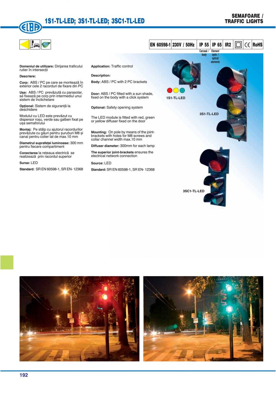 Pagina 195 - Catalog general de produse ELBA ELBA ECRAN CONTRAST, 3S2-TL-LED, 2S2-TL-LED,...