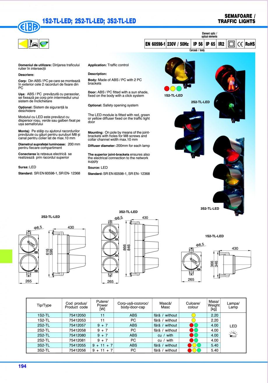 Pagina 197 - Catalog general de produse ELBA ELBA ECRAN CONTRAST, 3S2-TL-LED, 2S2-TL-LED,...