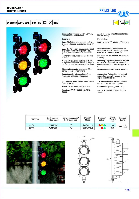 Pagina 198 - Catalog general de produse ELBA ELBA ECRAN CONTRAST, 3S2-TL-LED, 2S2-TL-LED,...
