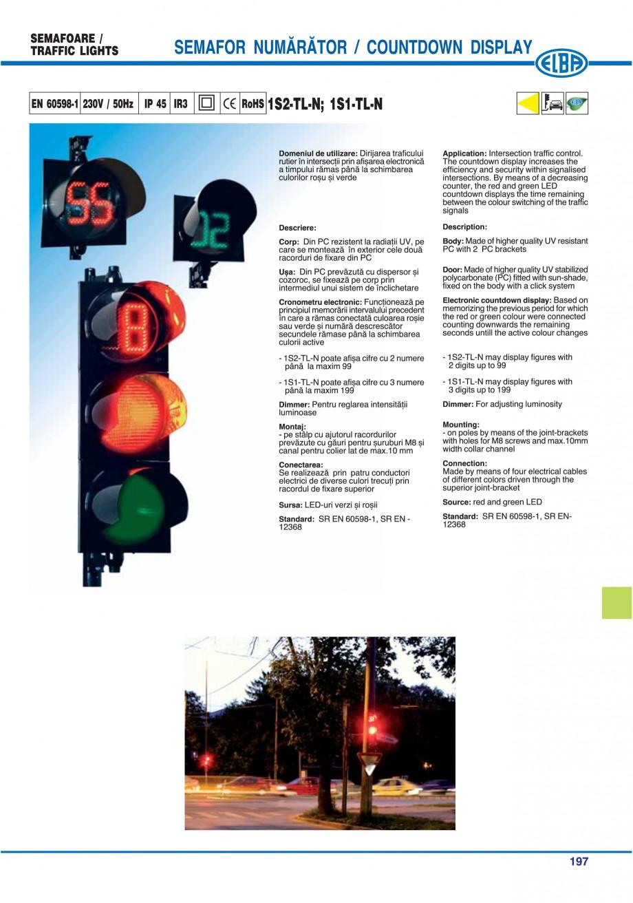 Pagina 200 - Catalog general de produse ELBA ELBA ECRAN CONTRAST, 3S2-TL-LED, 2S2-TL-LED,...