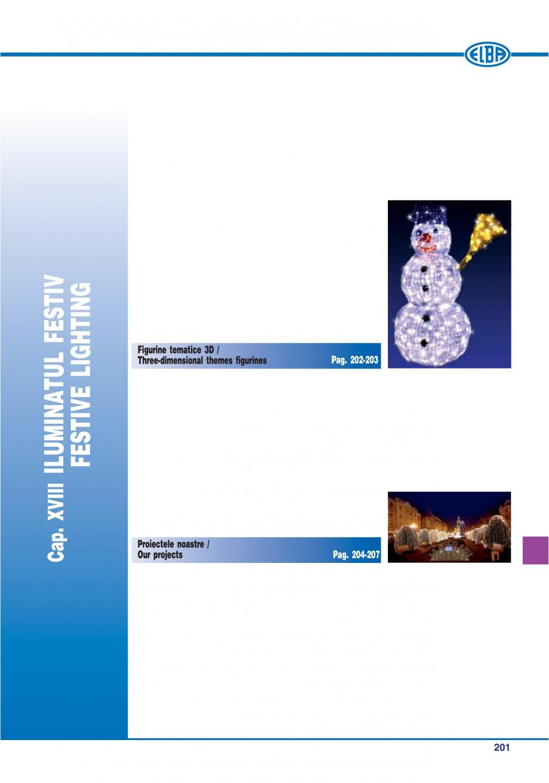 Pagina 204 - Catalog general de produse ELBA ELBA ECRAN CONTRAST, 3S2-TL-LED, 2S2-TL-LED,...